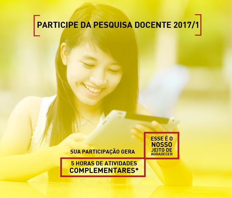 CPA - Participe da pesquisa docente 2017/01