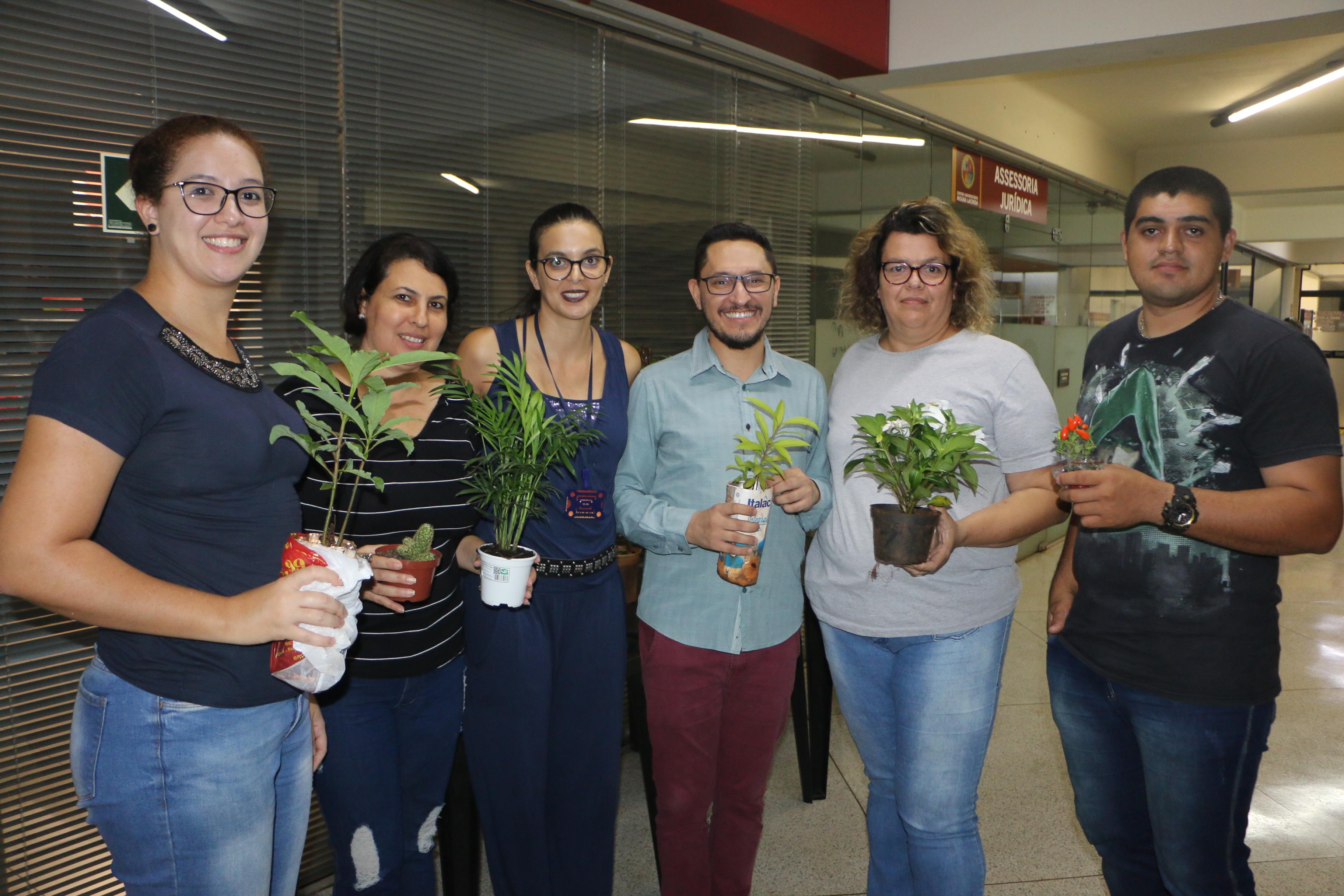 Ação ambiental promove interação entre graduações