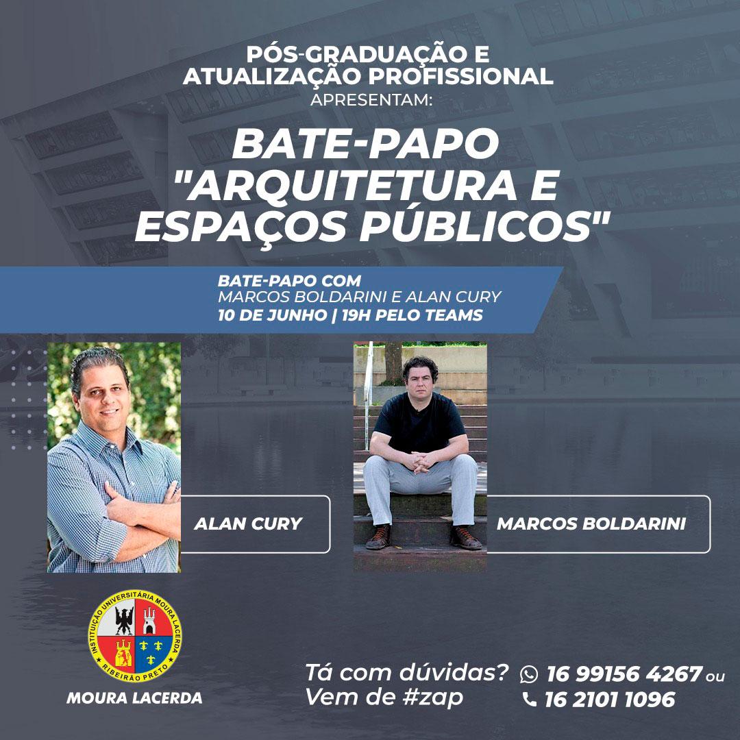 """Participe do bate-papo """"Arquitetura e Espaços Públicos"""""""